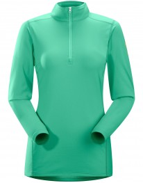 ARC'TERYX PHASE AR ZIP NECK WOMEN'S